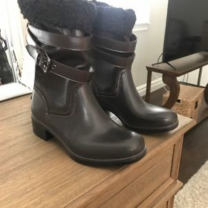 New Leather Coach boots